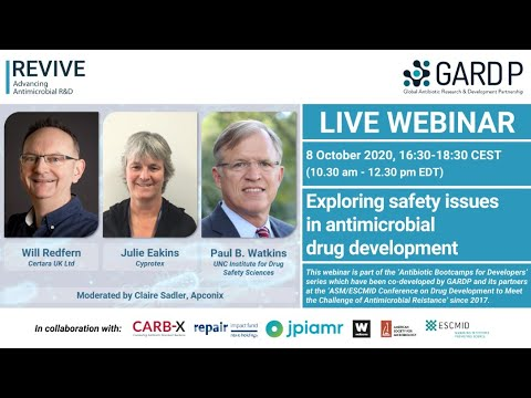 Exploring safety issues in antimicrobial drug development
