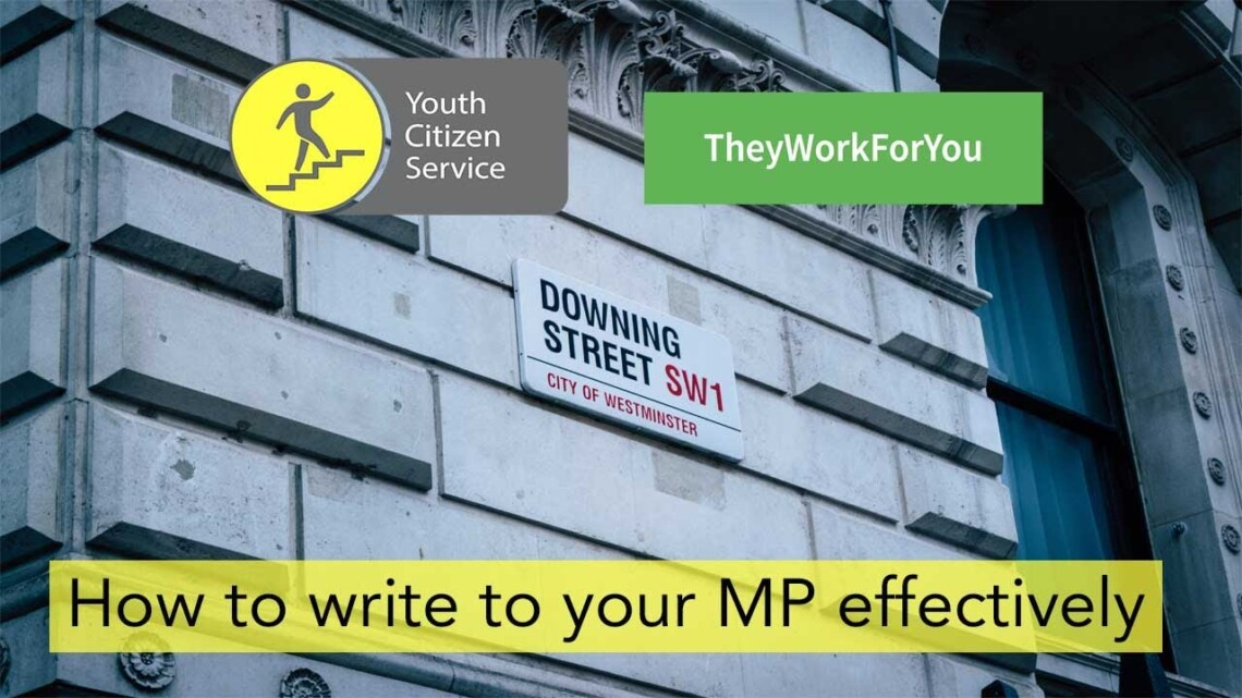 How to write to your MP effectively