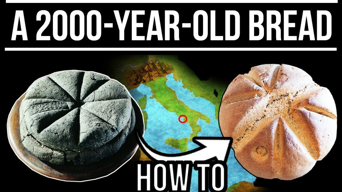 A 2000-Year-Old Carbonized Roman Bread – The Herculaneum Loaf | Food in Ancient Rome