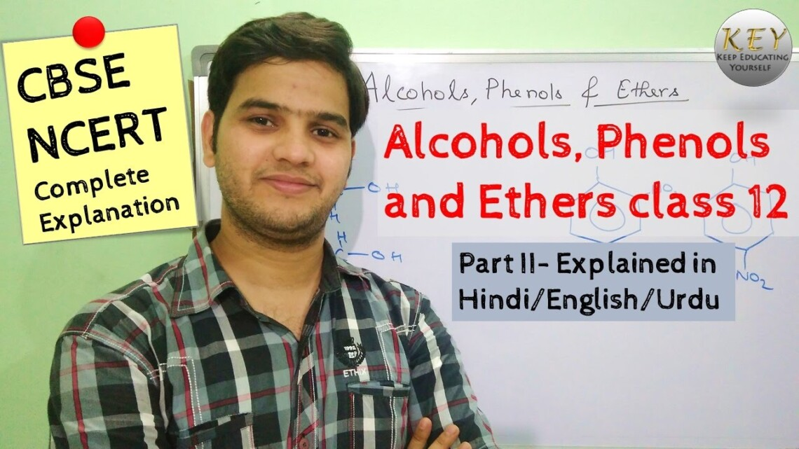 Alcohols Phenols and Ethers class 12 Part 2 [Hindi/Urdu] #NCERT