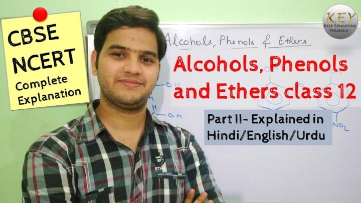 Alcohols Phenols and Ethers class 12 Part 2 [Hindi/Urdu] #NCERT