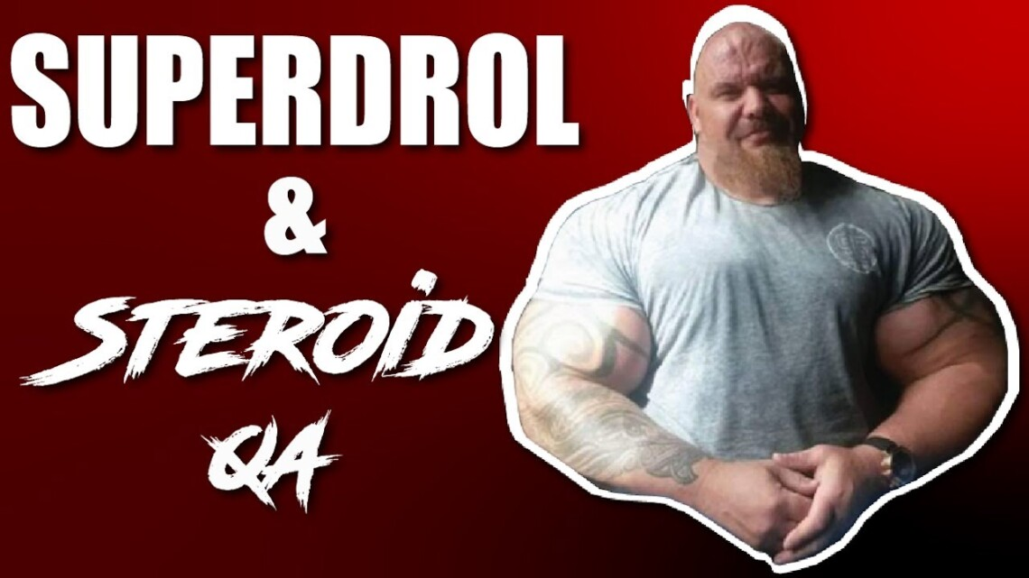 SUPERDROL , STEROID CYCLES, ROID TEST – DRUGS N STUFF BODYBUILDING PODCAST 81