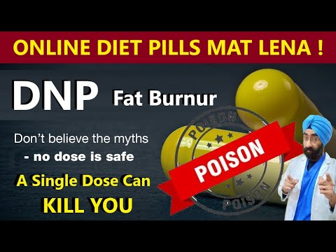 Science of Fat burners : DNP Killed 75 people | Magic Diet pill 2,4 Dinitrophenol | Dr.Education