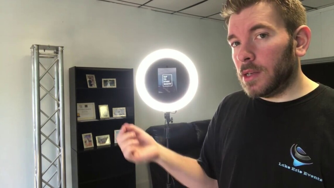 iPad Photobooth Review from PhotoboothStartup under $1000 (Links in Description)