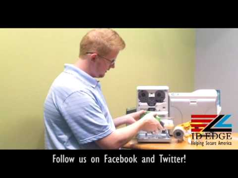 How to attach a Lamination Unit to the Prima 4 | Tulsa Access Card Security