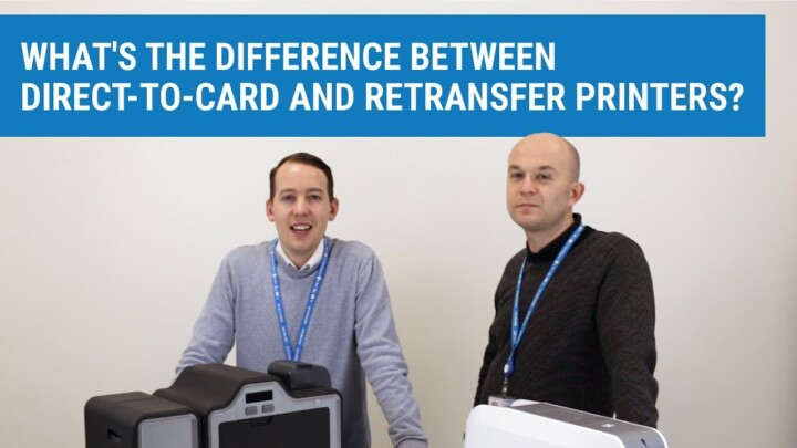 What's the Difference Between a DTC and a Retransfer ID Card Printer?