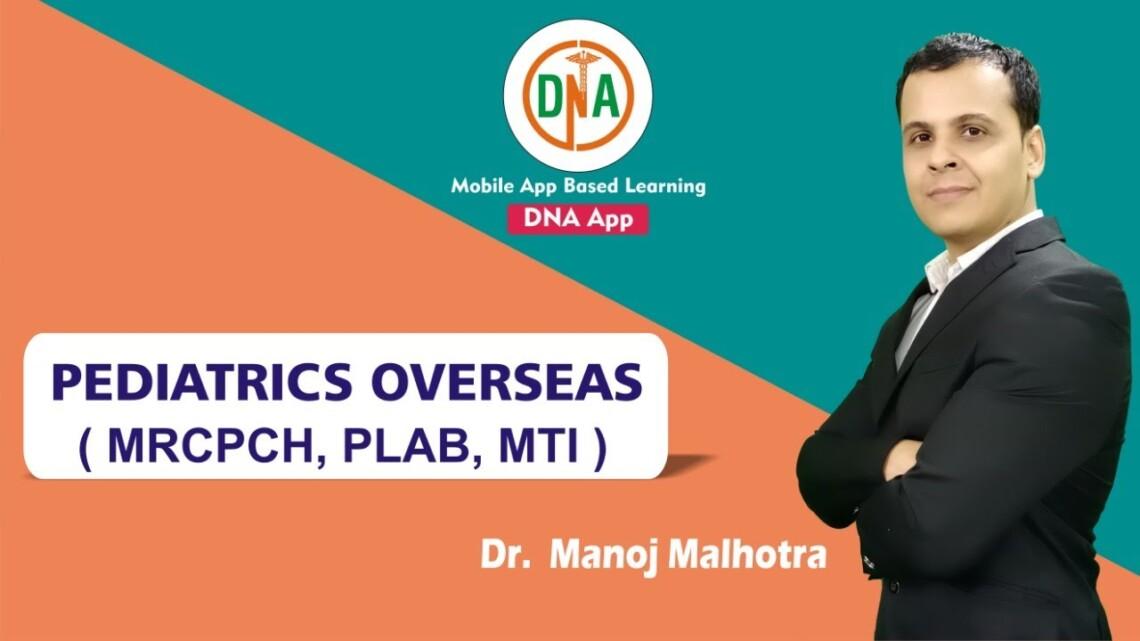 Pediatrics as a future career by Dr. Manoj Malhotra Renowned Pediatrican cum National Level Faculty.