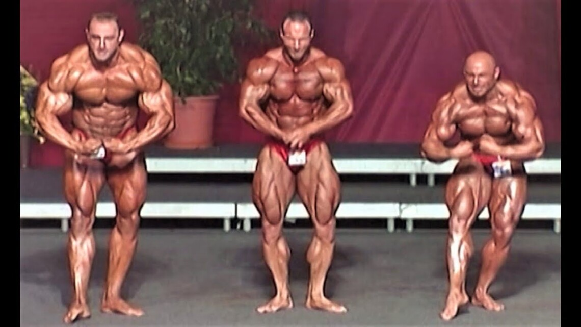 NABBA World Championship 2001 – Men Overall